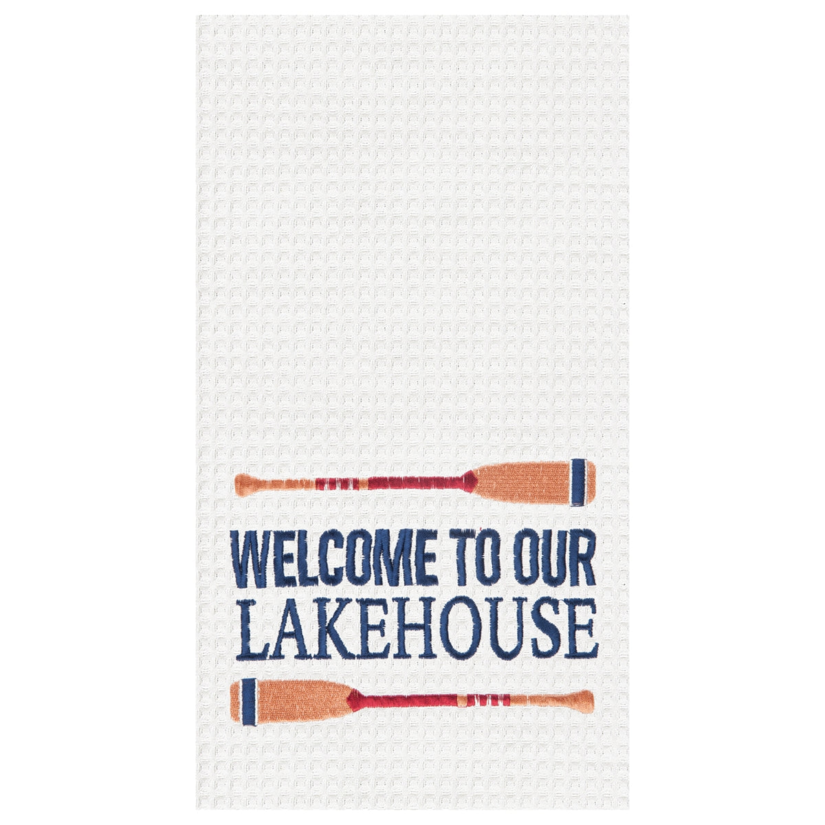 Welcome To Our Lakehouse Towel