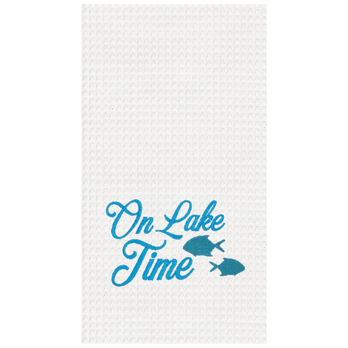 On Lake Time Towel