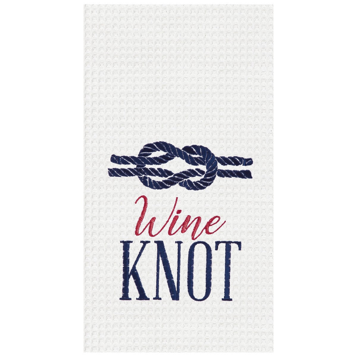 Wine Knot Towel