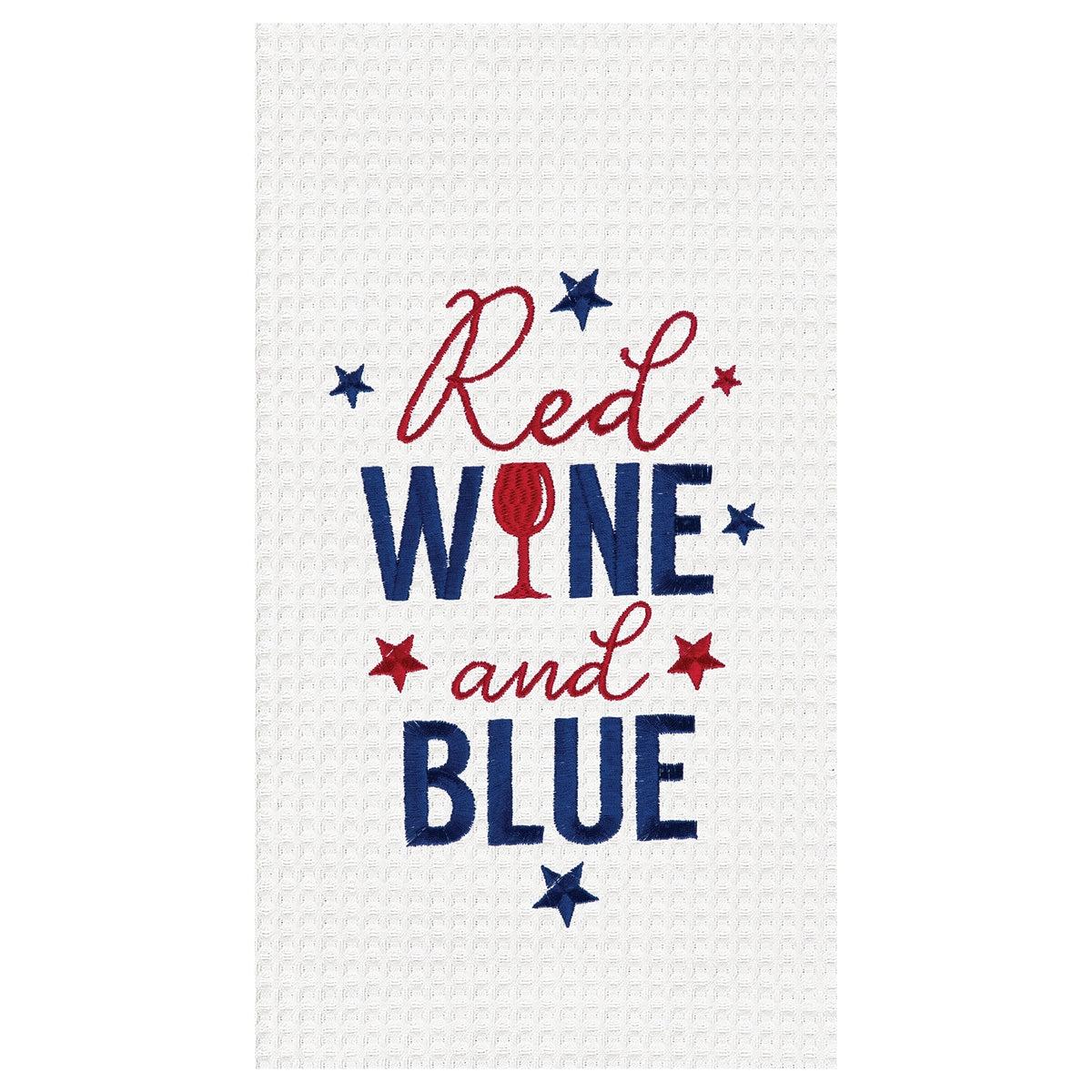 Red Wine & Blue Towel