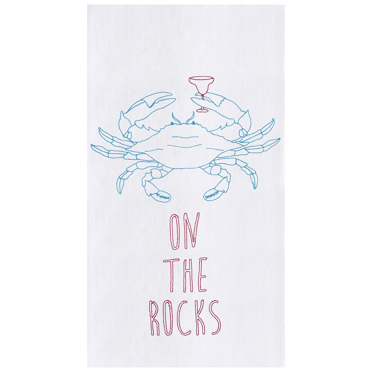 On The Rocks Towel