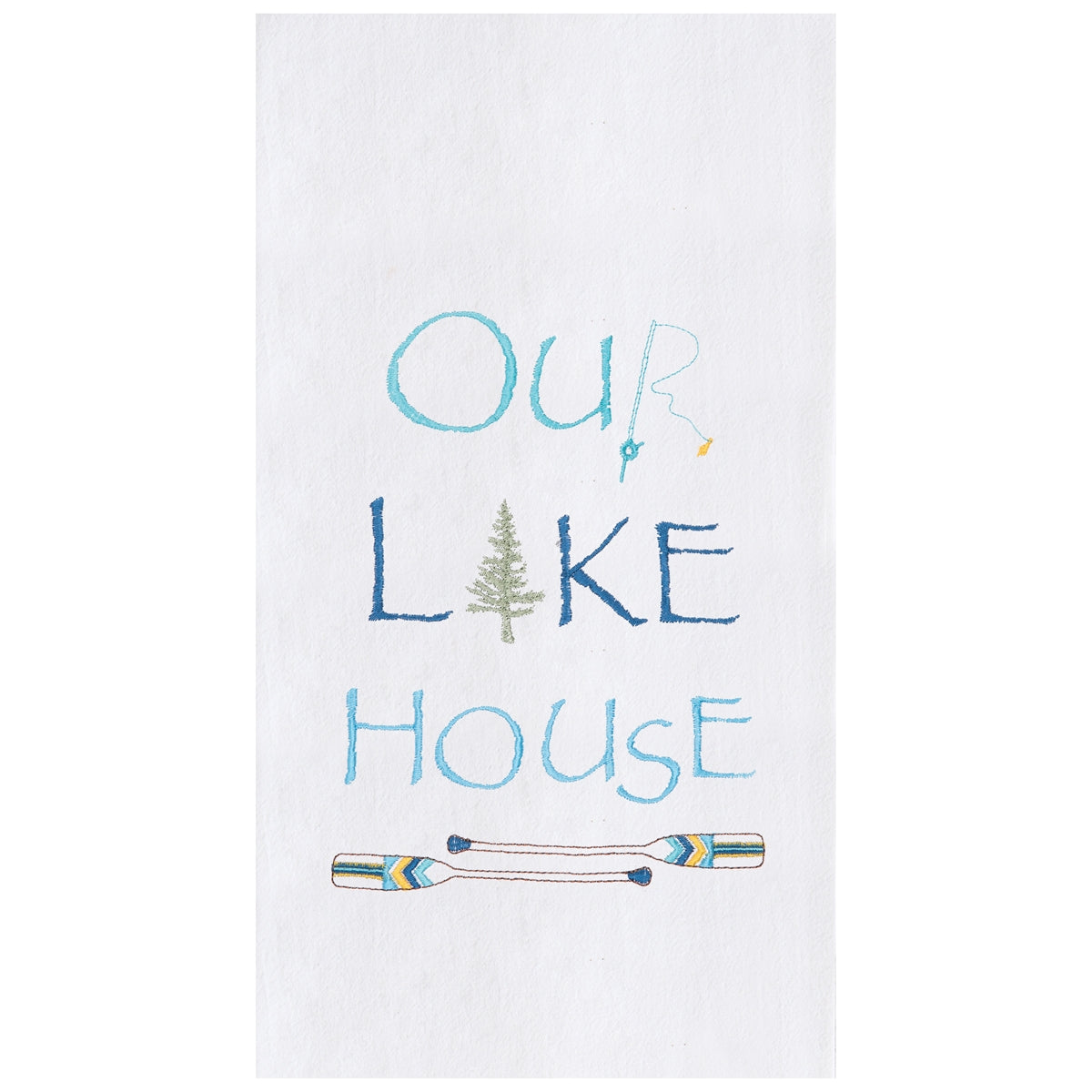 Our Lake House Towel