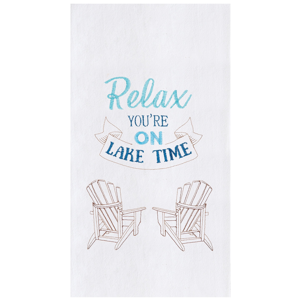 Relax Lake Time Towel