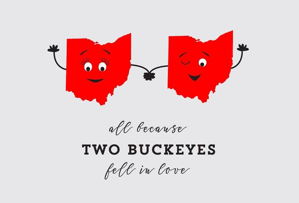 Two Buckeyes Postcard