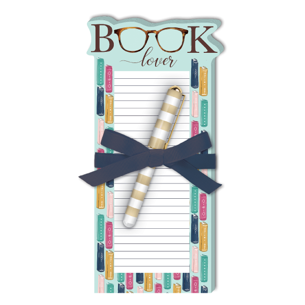 Lady Jayne 'Book Lover' Notepad and Pen