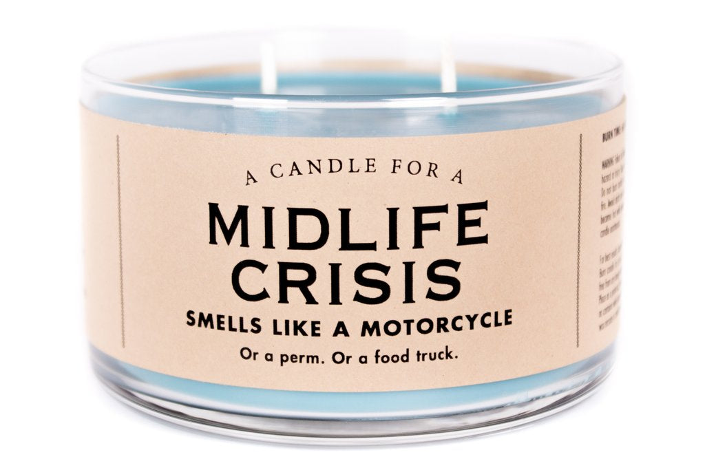 Midlife Crisis Candle