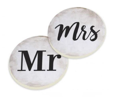 Mr. and Mrs. Car Coaster Pack