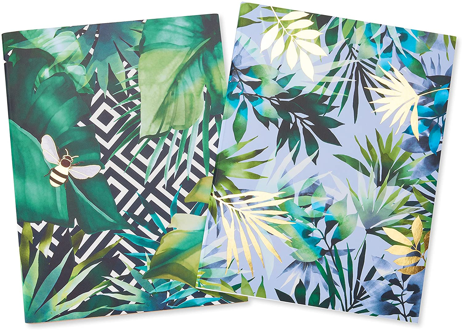 Papyrus Tropical & Geo Notebook Set- 2 count
