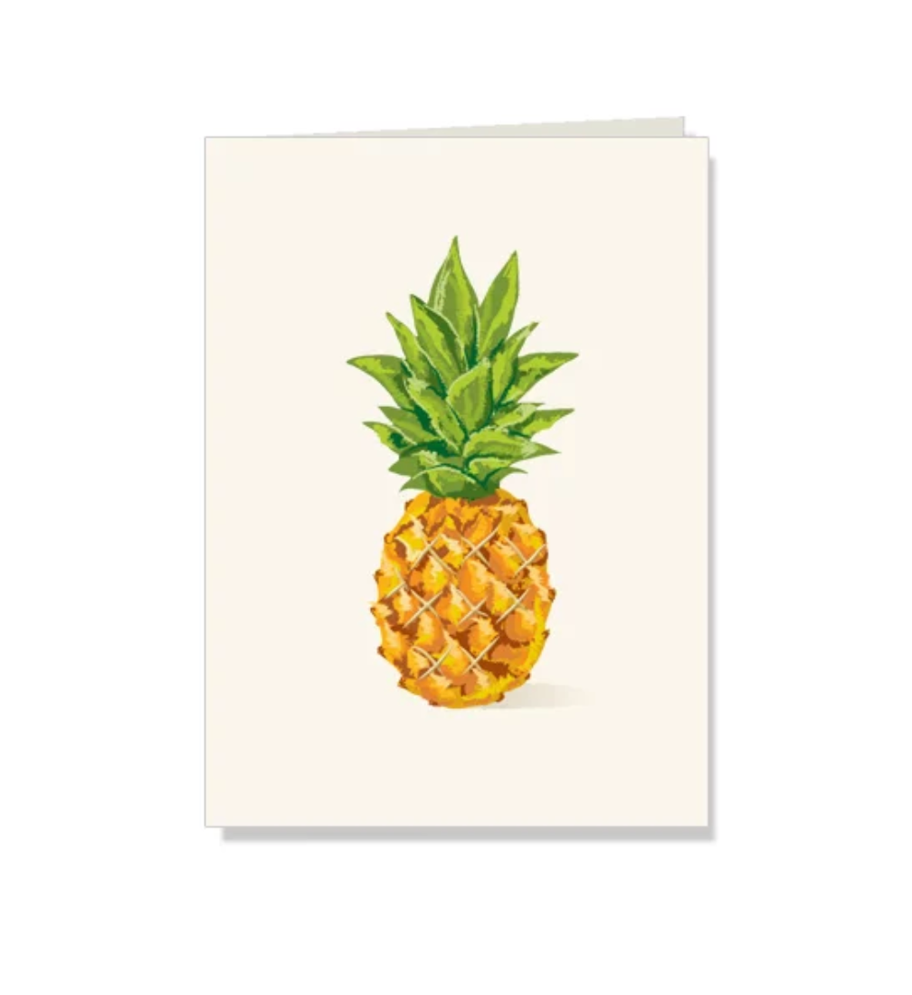 Pineapple Folded Note