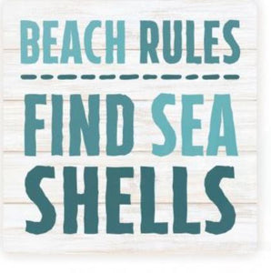 Find Sea Shells Coaster