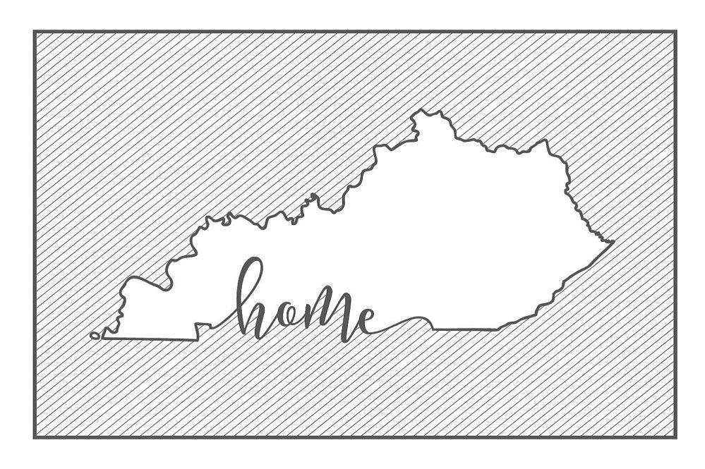 Kentucky Home Postcard