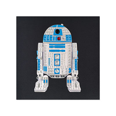 Gem R2D2 Greeting Card