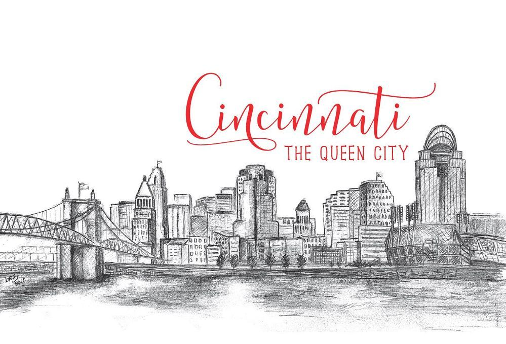 Cincinnati Queen Postcard