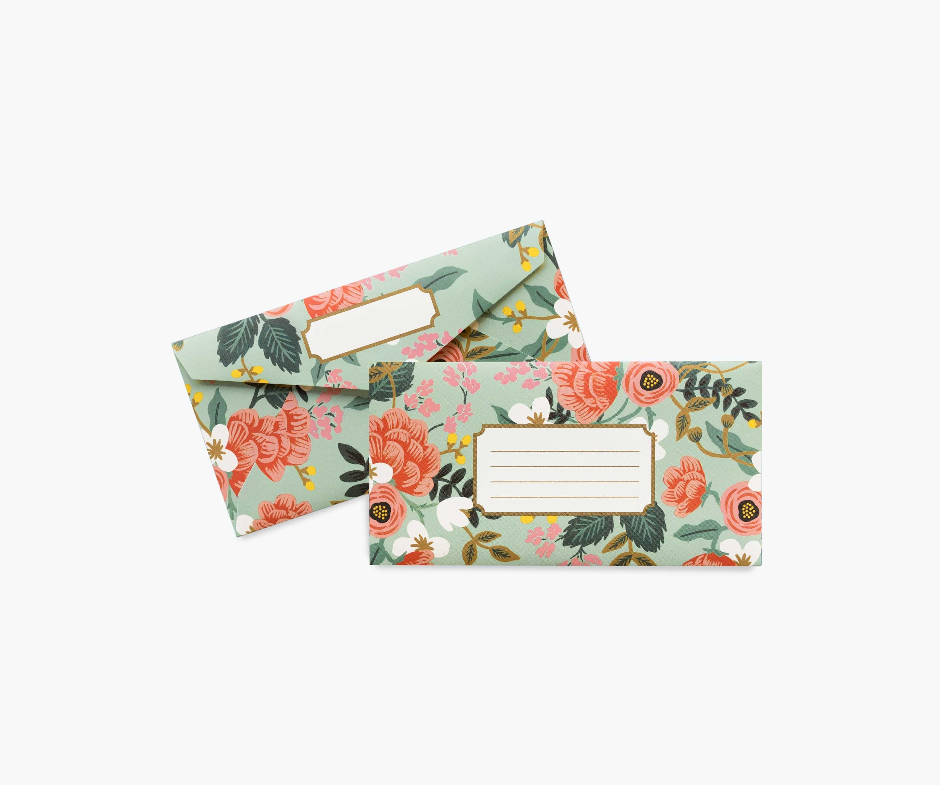 Rifle Paper Co. Envelopes- Mint Birch Monarch