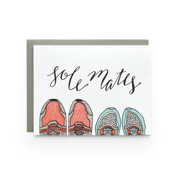 Sole Mates Greeting Card