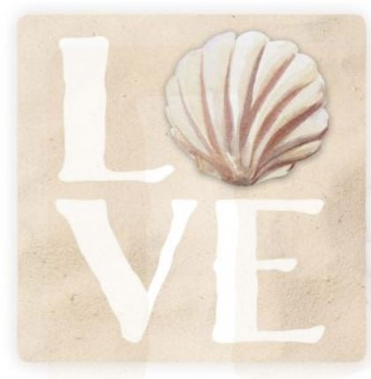 Love Shell Coaster