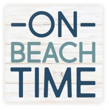On Beach Time Coaster