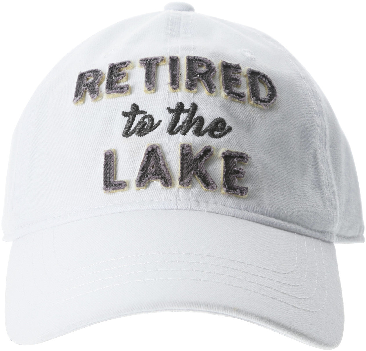 Retired to the Lake Adjustable Hat