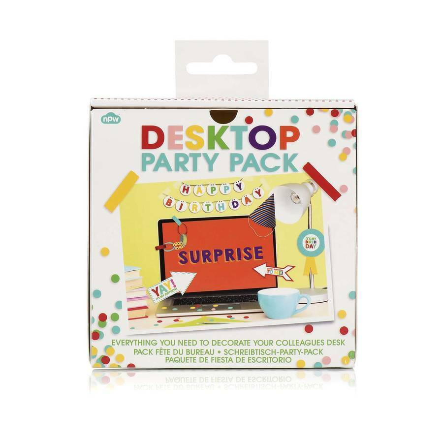 Desktop Party Pack- Birthday