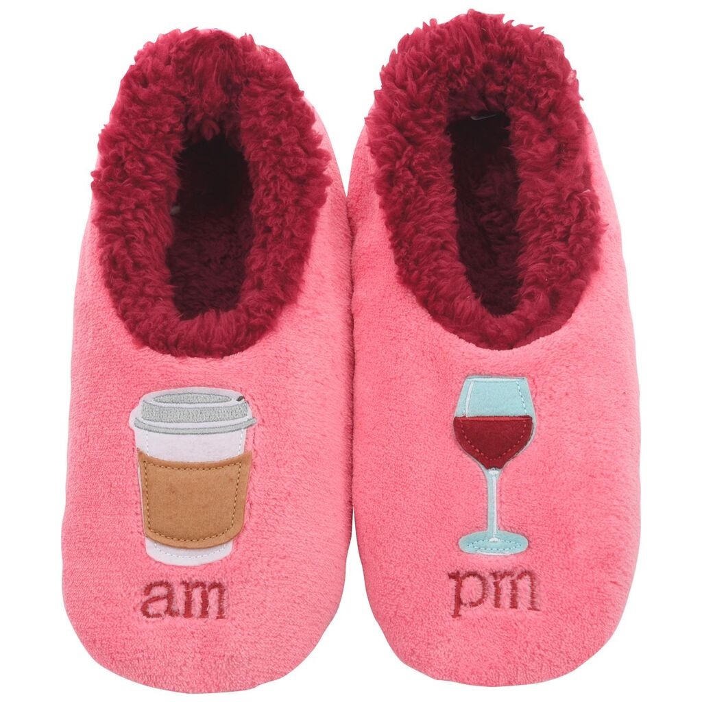 snoozies! Ladies AM/PM Pairables Slippers