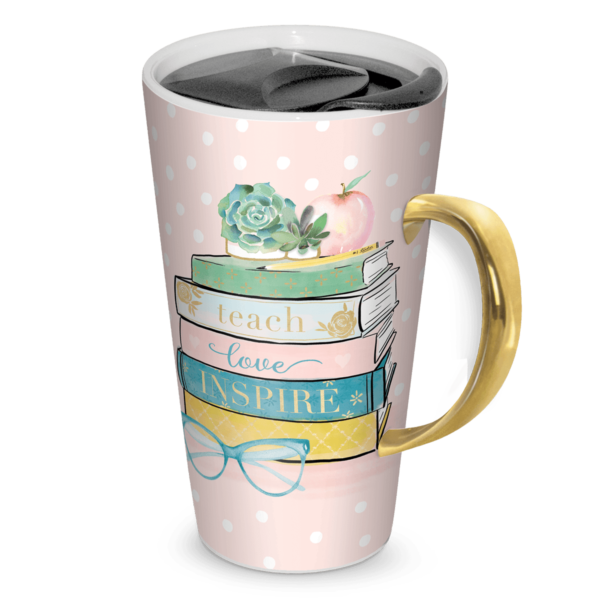 Lady Jayne 'Teach Love Inspire' Travel Mug