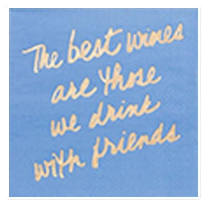 We Drink With Friends Cocktail Napkins