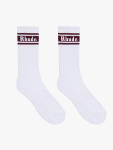 STRIPE LOGO SOCK
