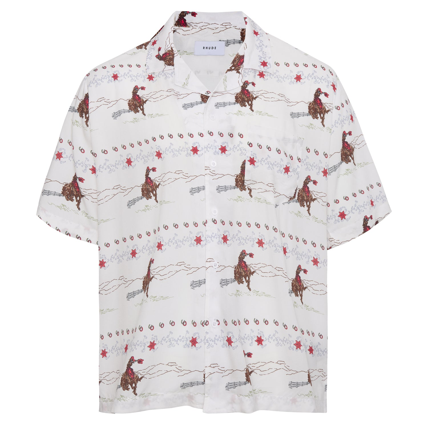 COWBOY HAWAIIAN SHIRT