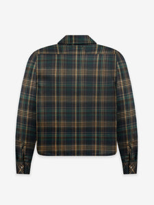 PLAID SHERPA SNAP
