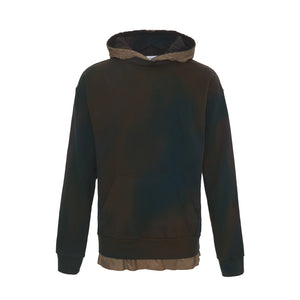 Layered French Terry Hoodie