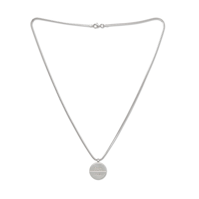 Rhude Necklace Silver 1