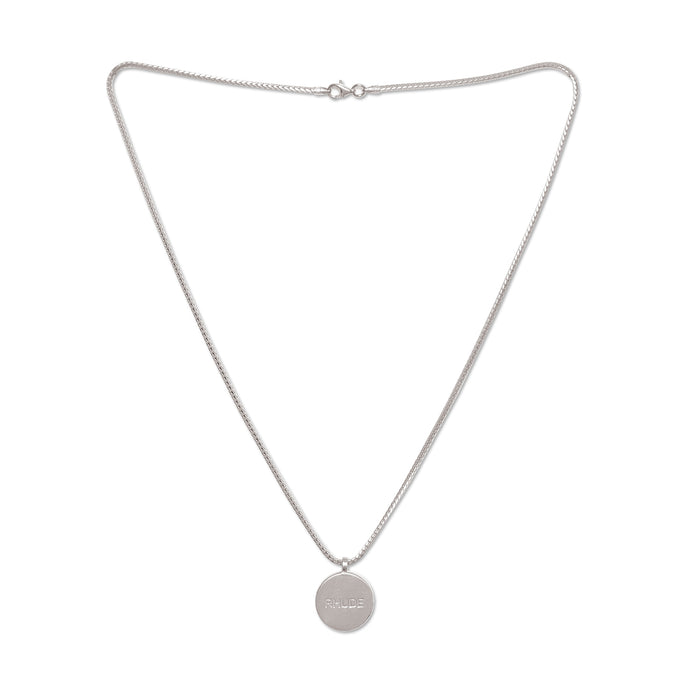 Rhude Necklace Silver 2
