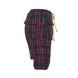 Plaid Cargo Shorts