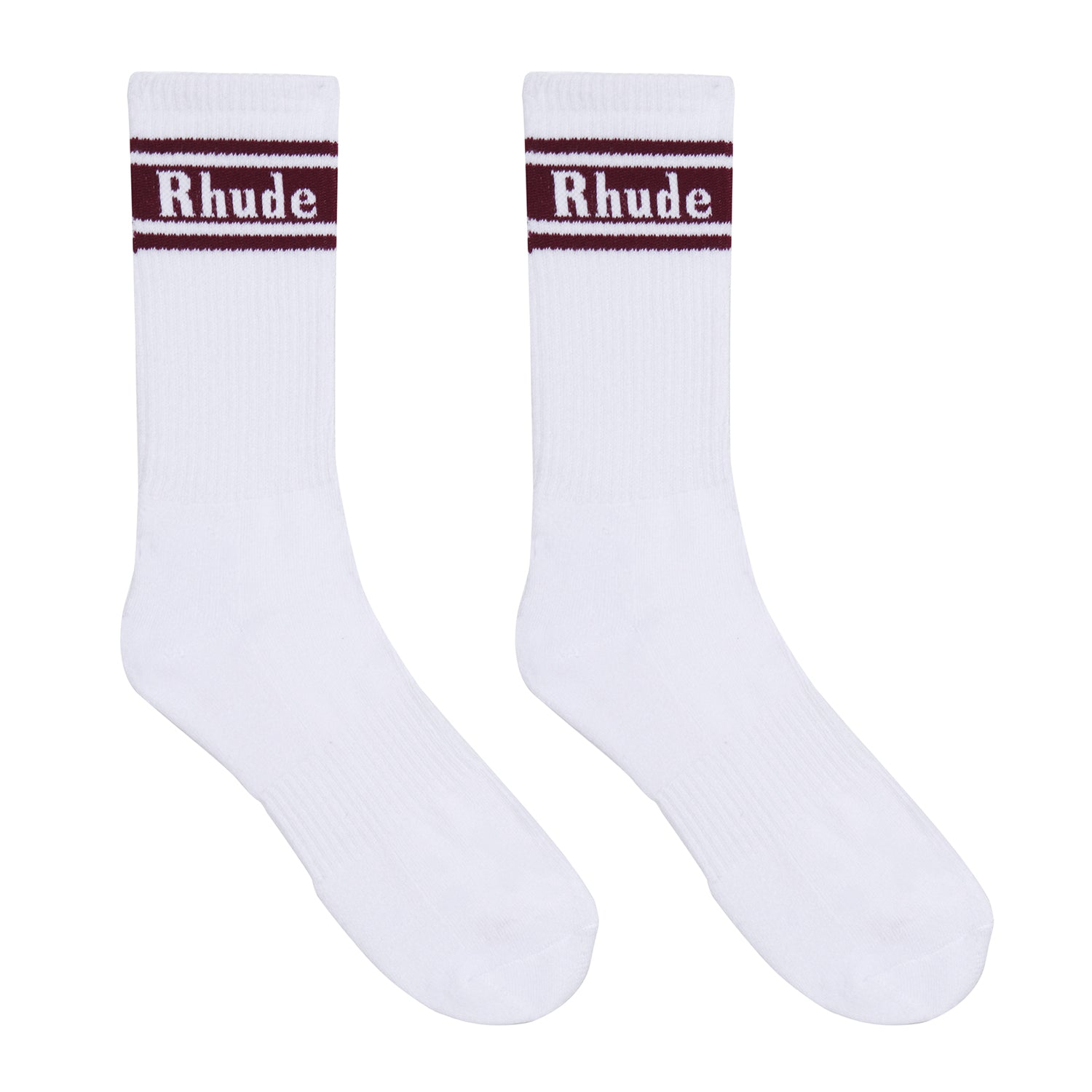 Rh Logo Stripe Socks