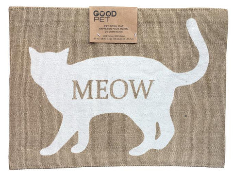 Good Pet Pet Bowl Mat