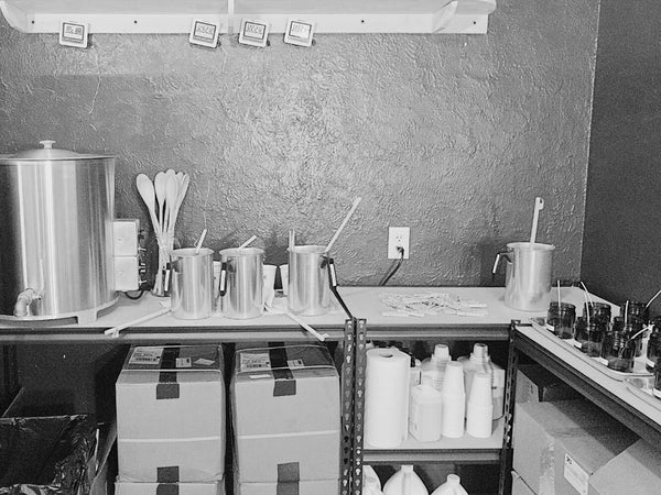 Cotton and Wax Candle Co studio