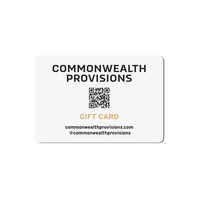 Commonwealth Provisions Gift Card