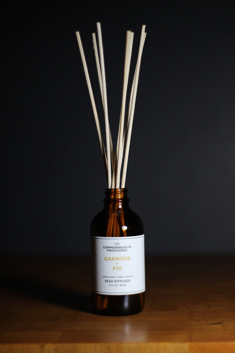 Commonwealth Provisions Oakmoss + Fig Reed Diffuser