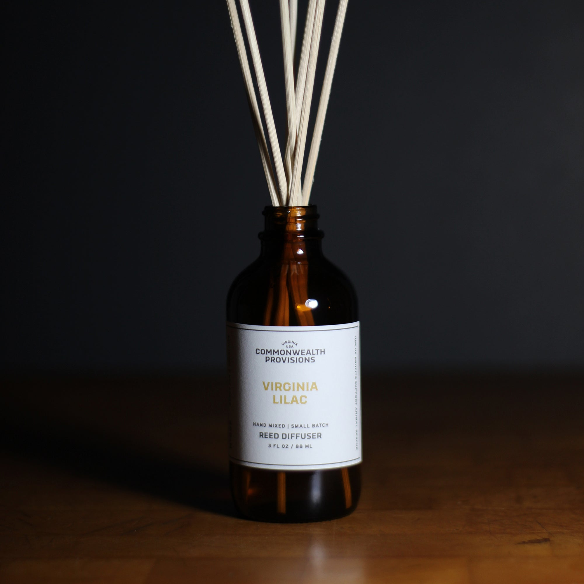 Commonwealth Provisions Virginia Lilac Reed Diffuser