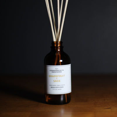 Commonwealth Provisions Grapefruit + Sage Diffuser