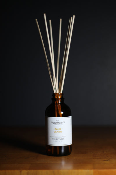 Commonwealth Provisions Palo Santo Reed Diffuser
