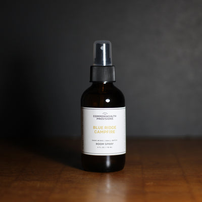 Blue Ridge Campfire Room Spray | Commonwealth Provisions