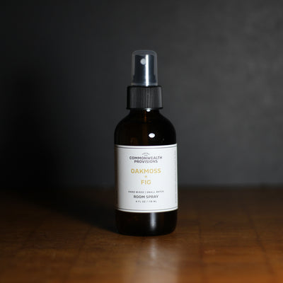 Oakmoss + Fig Room Spray | Commonwealth Provisions