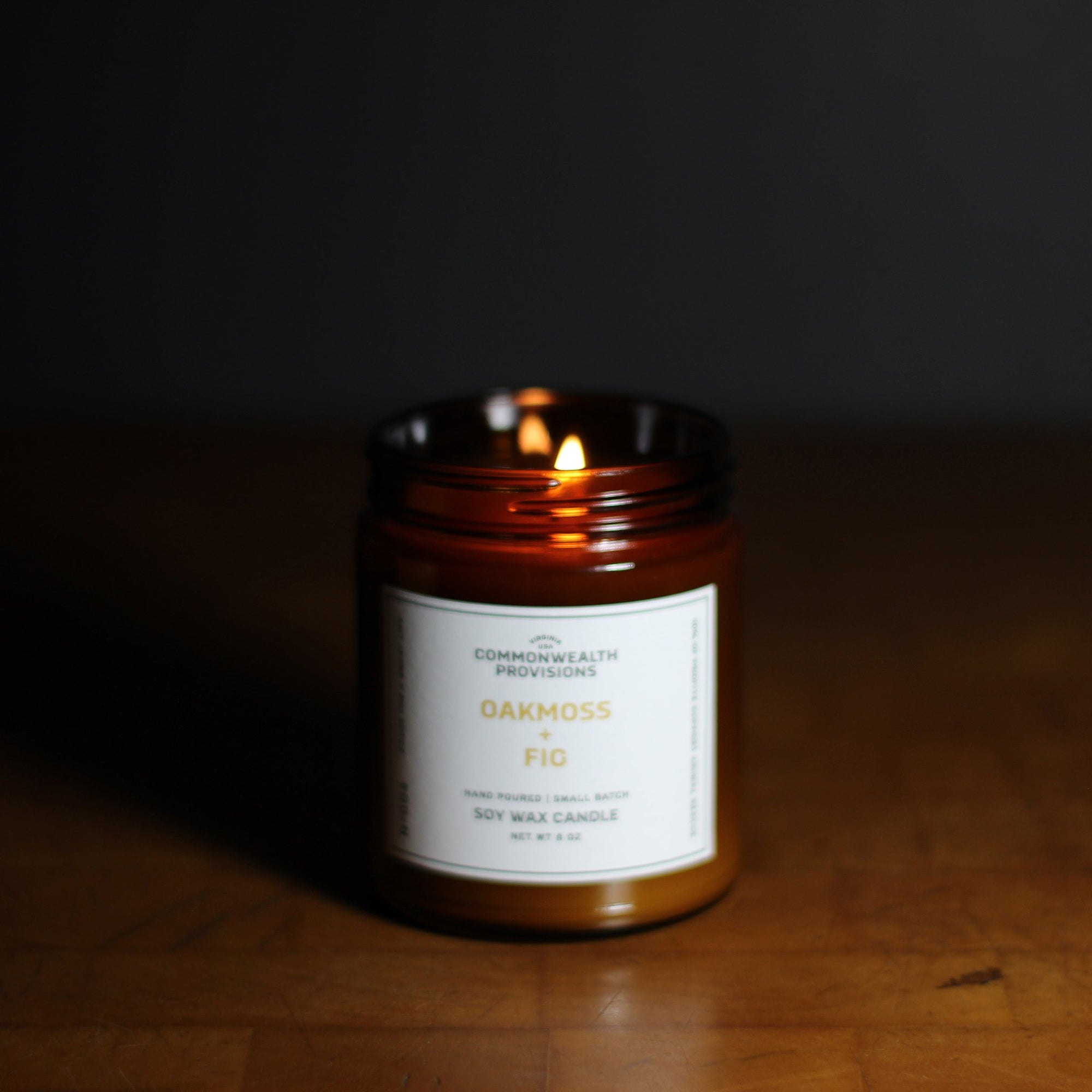 Commonwealth Provisions Oakmoss + Fig Candle