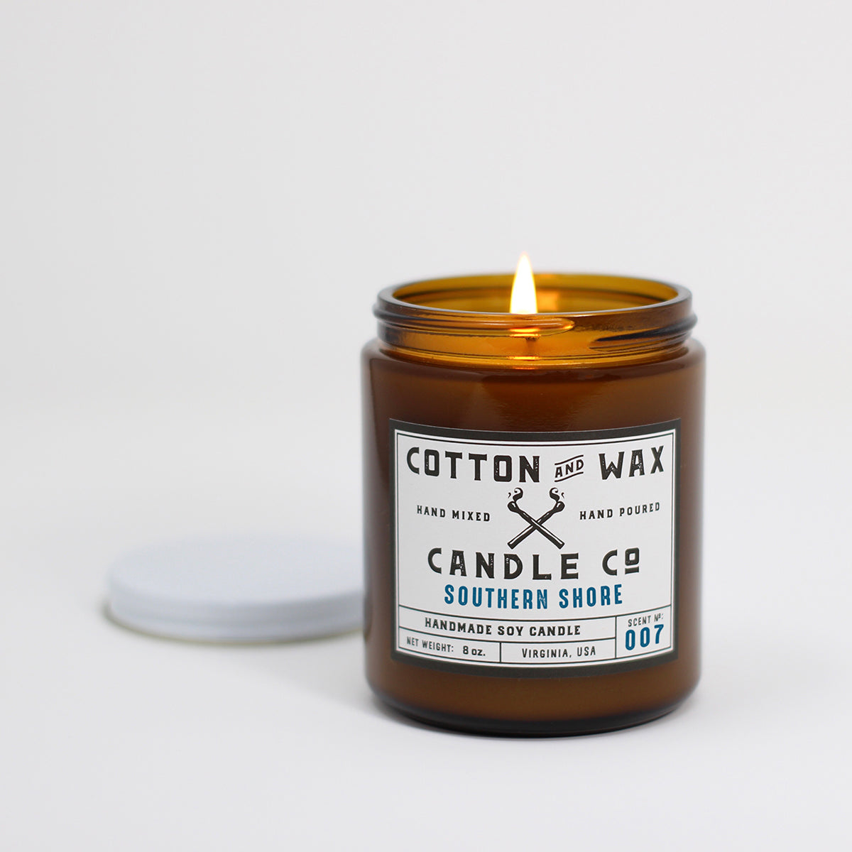 Cotton and Wax Candle Co. Southern Shore Reed Diffuser