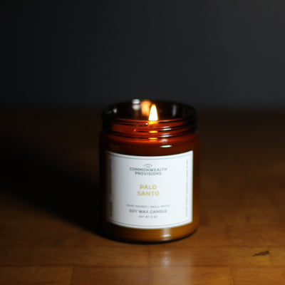 Commonwealth Provisions Palo Santo Candle