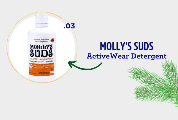 fatco holiday gift guide athlete molly's suds activewear detergent