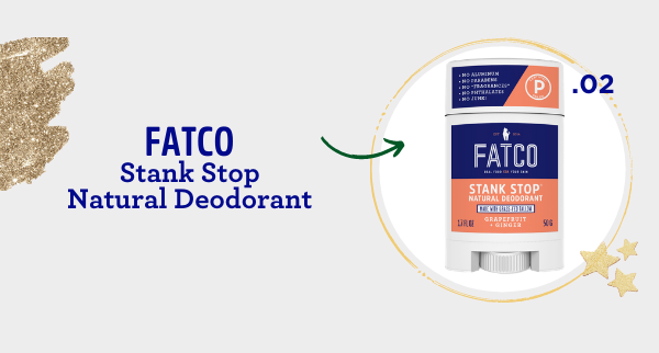 fatco holiday gift guide athlete outdoor enthusiast Stank stop natural deodorant