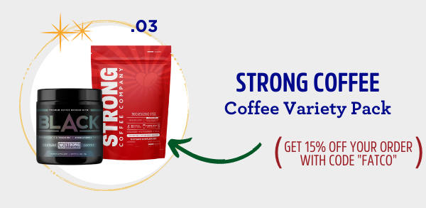 fatco holiday gift guide coffee lover strong coffee