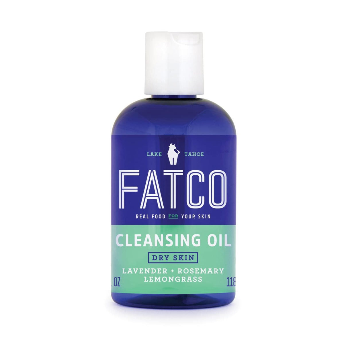 CLEANSING OIL FOR DRY SKIN 4 OZ-FATCO Skincare Products paleo skincare vegan friendly OCM cleanser dry combination